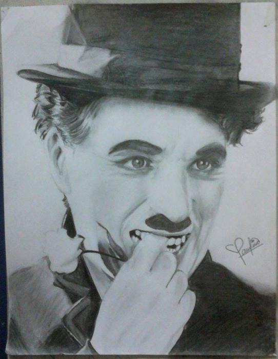 Charlie Chaplin by PauTurner